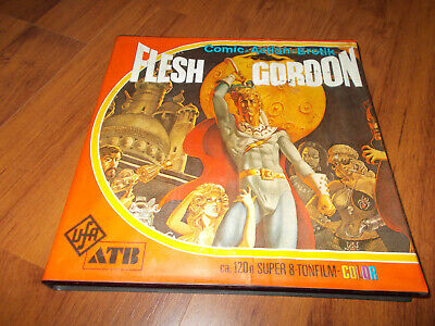 Super 8 Film Flash Gordon Rolle 1 - 120m/color/Ton - gute Farben