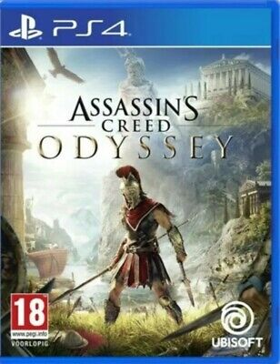 PLAYSTATION 4 (PS4) Game - ASSASSIN'S CREED ODYSSEY. Ubisoft.