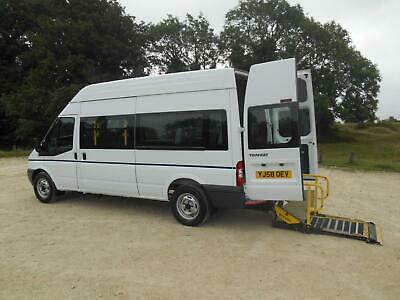 2008 Ford Transit T350L 7 Seat Wheelchair Accessible Disabled Minibus