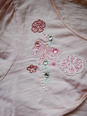 Next Matching Top T-shirt and short cardigan. Age 5. Excellent condition