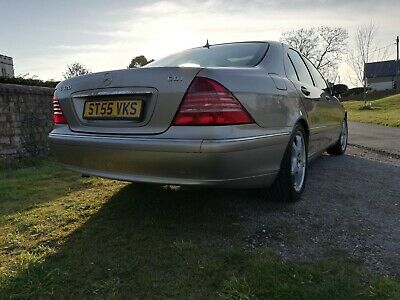 2005 Mercedes-Benz S320 CDI W220 S-Class with 98k miles FSH & MOT until March 21