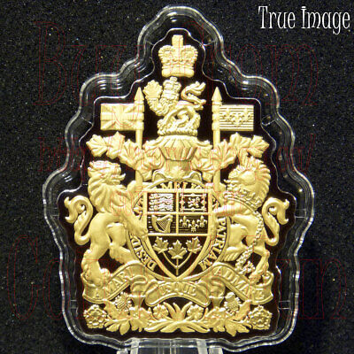 2020 - Real Shapes #5 - The Coat of Arms - $50 3 OZ Pure Silver Proof Coin