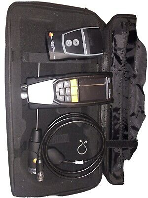 Testo 320 Flue Gas Analyser Basic With printer in case With probes