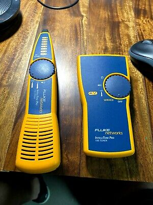 Fluke Networks Intellitone Pro 100 LAN Kit Toner and Probe Cable Tracker