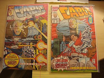 CABLE 1992 mini-series LOT #1 & #2 MARVEL COMICS NM/M X-Men NEW DEADPOOL MOVIE