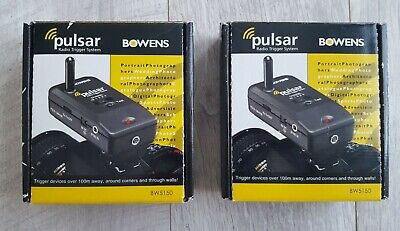 2x Bowens Pulsar Wireless Transceiver Unit BW5150 boxed #35925