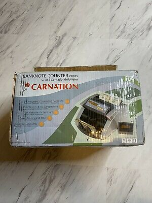 Carnation Banknote Counter CR855