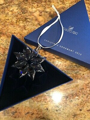 Swarovski Crystal Annual Edition 2013 Christmas Ornament Star