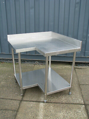 Commercial Stainless Steel Corner Table