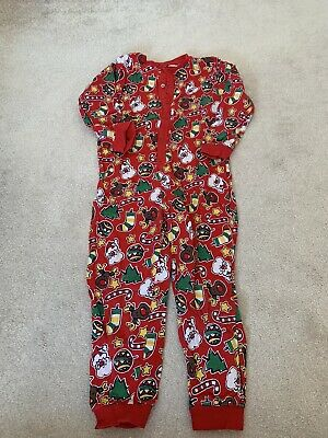 TU Christmas Print All In One  Age 4-5