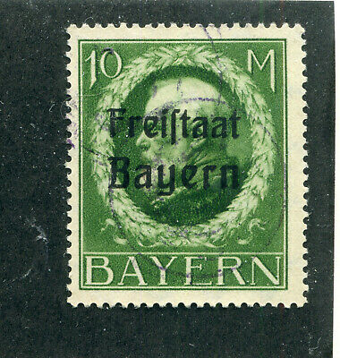 German States,Stamps. Bavaria # 210   Used   No Faults.