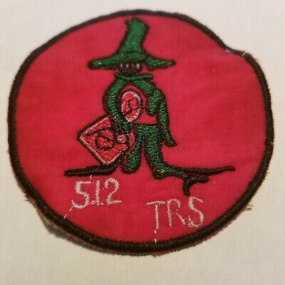 SHADOW OPS -  US AIR FORCE - 512th TACTICAL RECON - VIETNAM WAR PATCH