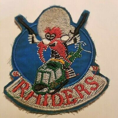 YOSEMITE SAM -  US ARMY - 334th HELICOPTER RAIDERS - RARE VIETNAM WAR PATCH