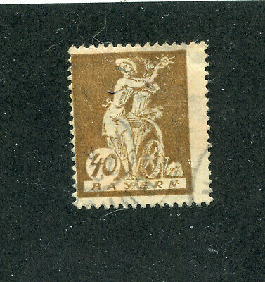German States,Stamps. Bavaria # 183  Used  oddity.  No Faults.