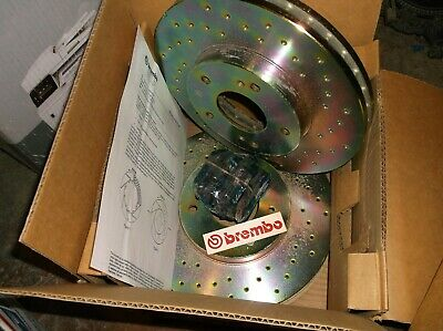 300Zx 90-96 Brembo Front Drilled Rotors + Axxis  Rear Pads!!  Rare Italy  35417