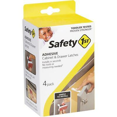 Safety 1st Adhesive Cabinet & Drawer Lock & Latch (4-Pack) HS310  - 1 Each