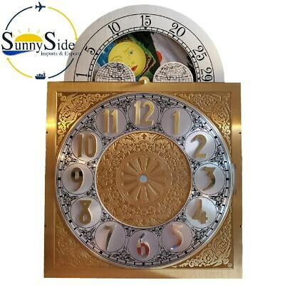 Grandfather Clock Dial  for Large Urgos Clock Movement