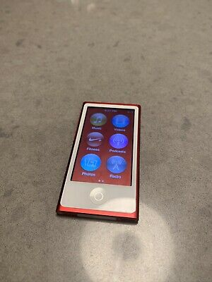 "Ipod Nano 7th Generation 16GB Product ""Red"" Special Edition"