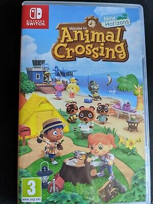 Animal Crossing New Horizons * Nintendo Switch * Perfect Condition Free Postage