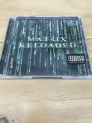The Matrix Reloaded: The Album [PA] by Original Soundtrack (CD, May-2003, 2...