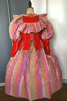 Ex-Hire Pantomime Dame costume