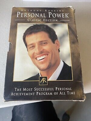 Anthony Robbins: Personal Power - Classic Edition - Audio Cd Box Set