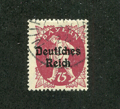 German States,Stamps. Bavaria # 264 Used Oddity  No Faults.