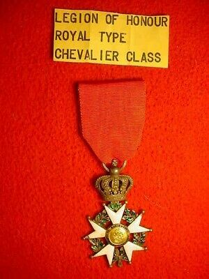 French  Legion  Of  Honour  Royal  Type  Chevalier  Class  French  Medal
