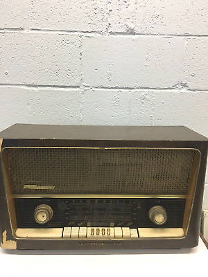Grundig Majestic 3028 Table Top Tube Radio Stereo West Germany AM/FM/SW