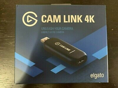 NEW Elgato Cam Link 4K Compact HDMI Device Recording/Streaming Ships FAST+FREE!