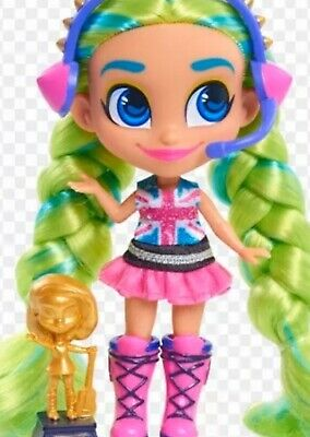 New Hairdorables 2020 Series 4 DOLL *ICE ICE HARMONY *VHTF Scented Seal Case M