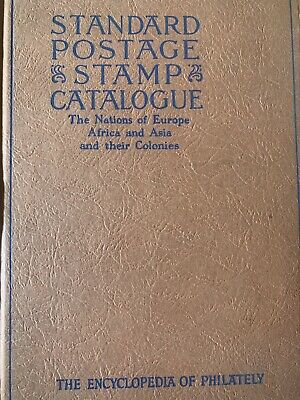 Stamdard Postage Stamp Catalogue 1946 Hardcover