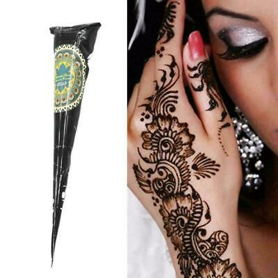 1pc Herbal Bunte Henna Cones Tätowierungsset Body Art Ne Heiß Ink Mehandi D Z9L9