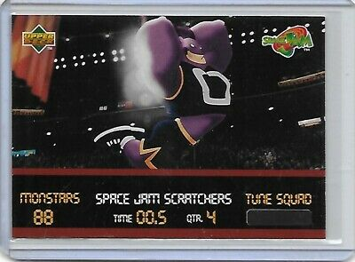Michael Jordan 1996-97 Space Jam Scratchers #SC1 Unscratched