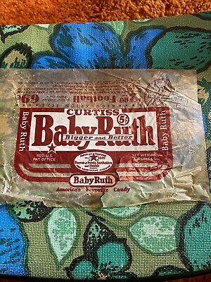 Rare 1930 Baby Ruth Candy Bar Wrapper Bigger And Better Vintage Wrapper
