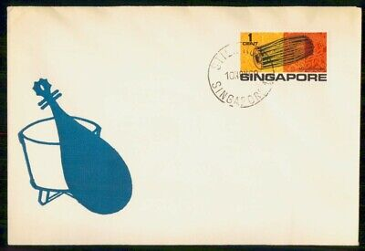 Mayfairstamps Singapore 1969 Mirudbangen Instrument First Day Cover wwf661