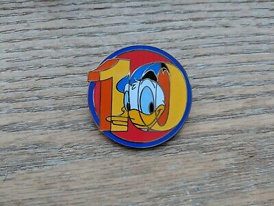 Disney Pin 10 Years Pin Trading Donald Duck Mystery Series Limited Release