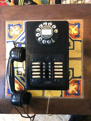 Antique Rotary Dial 10-Line Intercom Telephone