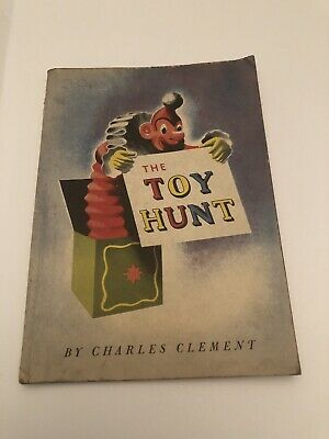 Clement, Charles THE TOY HUNT 1st Edition 1st Printing