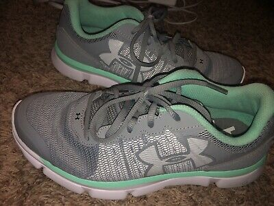 Under Armour Girls/youth Grey Micro G Running Shoes