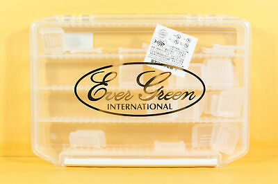 Evergreen Tackle Box S Tiered Clear 205 x 145 x 40mm (4605)
