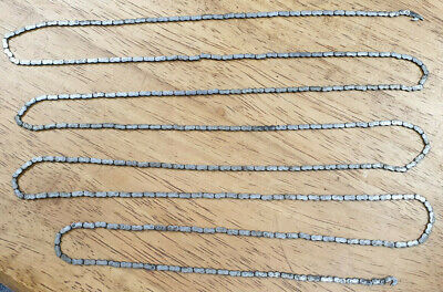 Extra Long Good Quality Old English Fusee Clock Chain-No Reserve!
