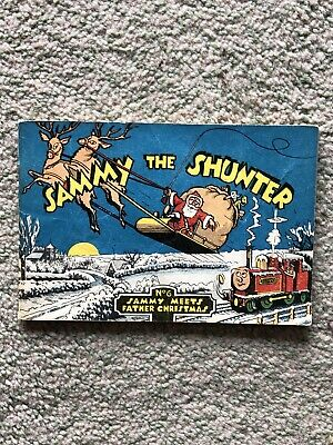 Sammy The Shunter, No 6 Sammy Meets Father Christmas Book by Eileen Gibb