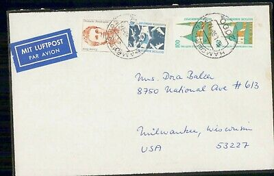 Mayfairstamps Germany Mourning cover to Milwaukee WI wwf997
