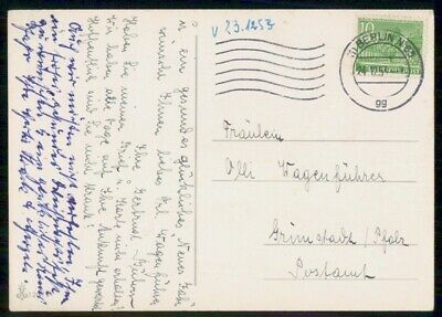 Mayfairstamps Germany 1953 Berlin Card wwf_00321
