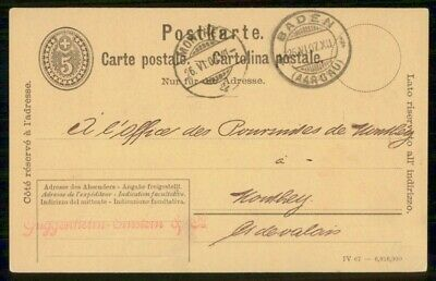 Mayfairstamps Germany 1907 Baden Card wwf_00151