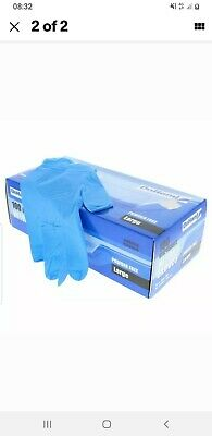Blue Nitrile Gloves PPE Medical Extra Large x 2 ( two boxes)