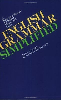English Grammar Simplified by Fernald, James , Paperback