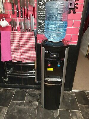 Bottled Water Cooler Dispenser Hot And cold With Built In Cabinet