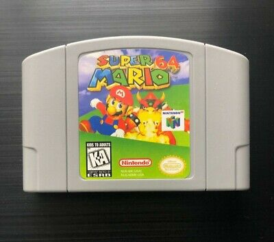 Super Mario 64 (Nintendo 64, 1996) N64 - Tested, Working, Great Gift! (Read)
